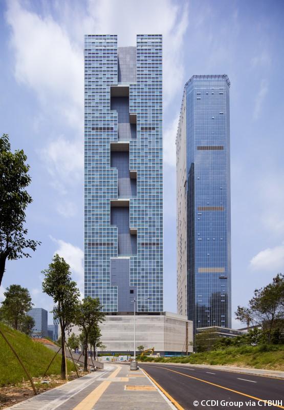 Baidu Headquarters East Tower The Skyscraper Center