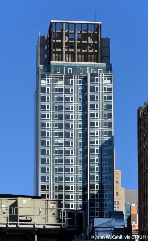 renaissance new york midtown hotel the skyscraper center. Black Bedroom Furniture Sets. Home Design Ideas