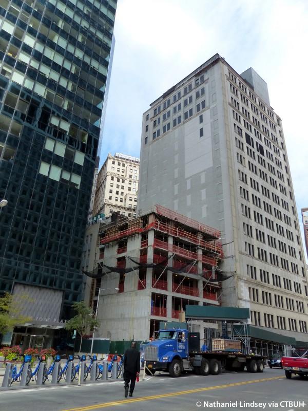 Hilton Garden Inn Financial Center The Skyscraper Center