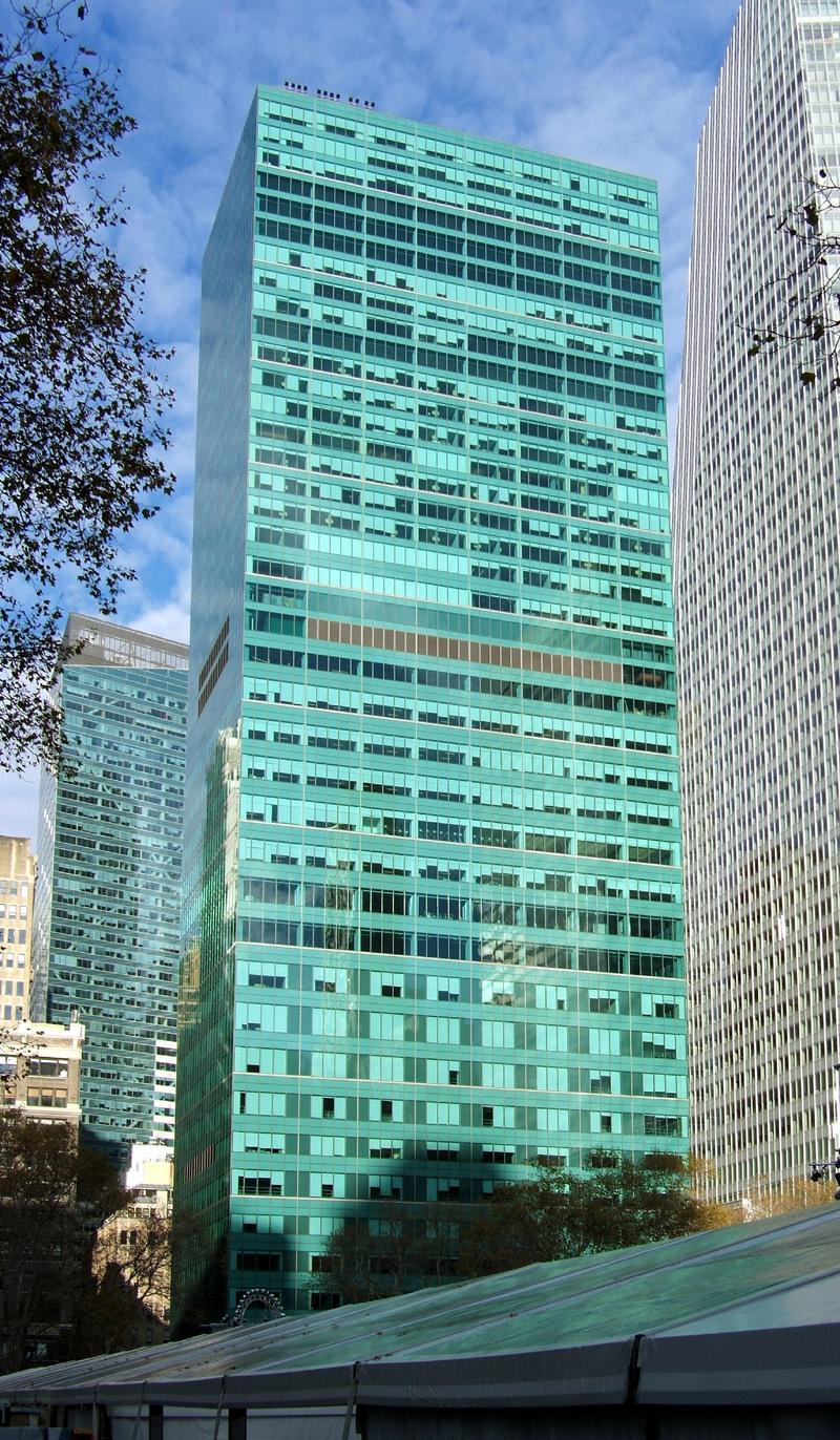 1095 Avenue Of The Americas The Skyscraper Center