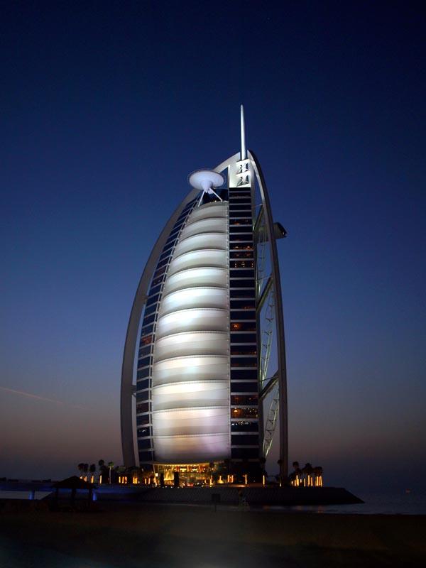 how tall is the burj al arab