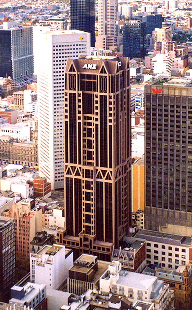 Anz World Headquarters The Skyscraper Center