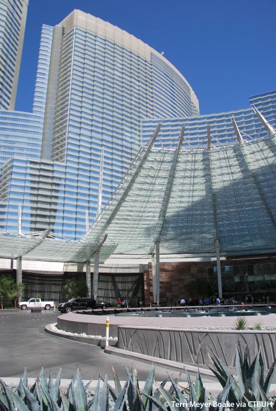 aria resort and casino address