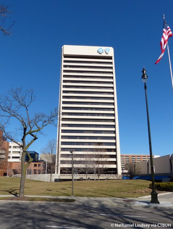Blue Cross Blue Shield of Michigan Building - The Skyscraper
