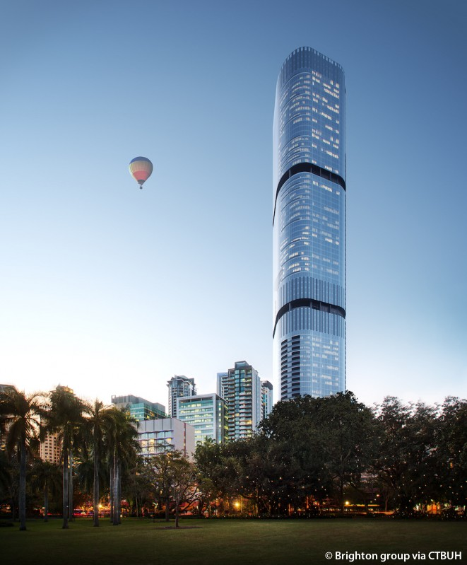 Brisbane Skytower The Skyscraper Center