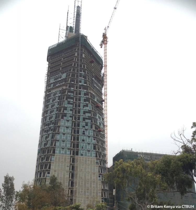 Top Life Insurance Companies >> Britam Tower - The Skyscraper Center