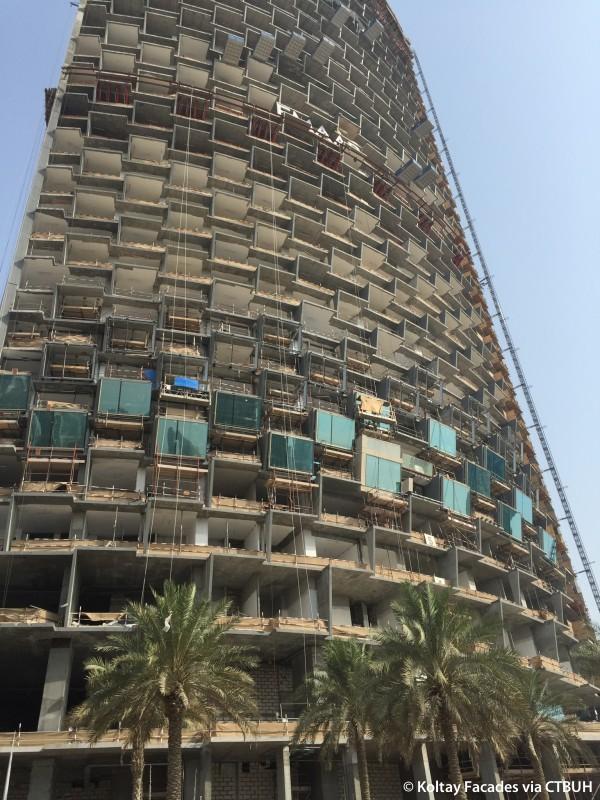 Burj Vista Tower 1 The Skyscraper Center