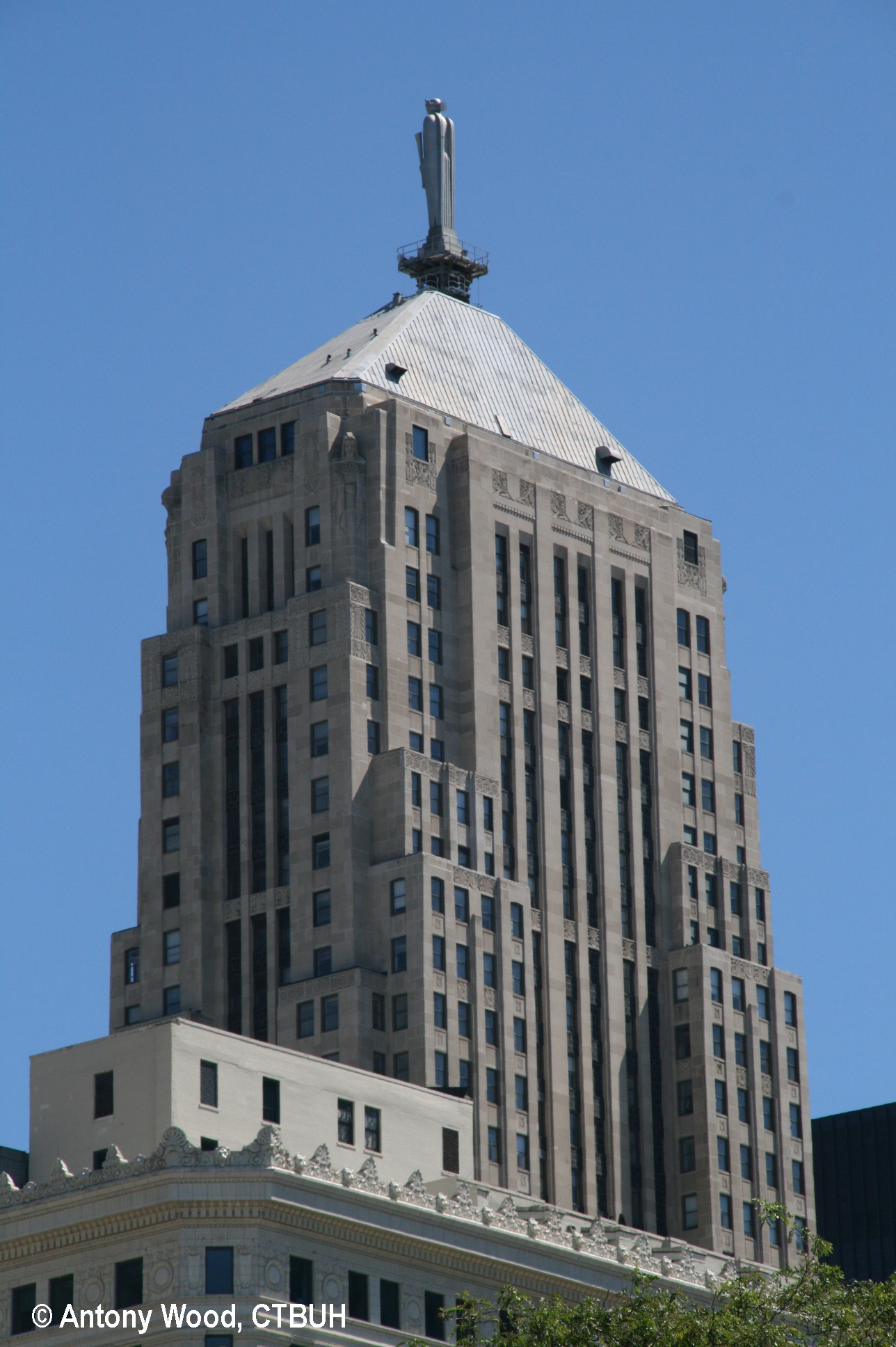 Usaa Contact Us >> Chicago Board of Trade - The Skyscraper Center