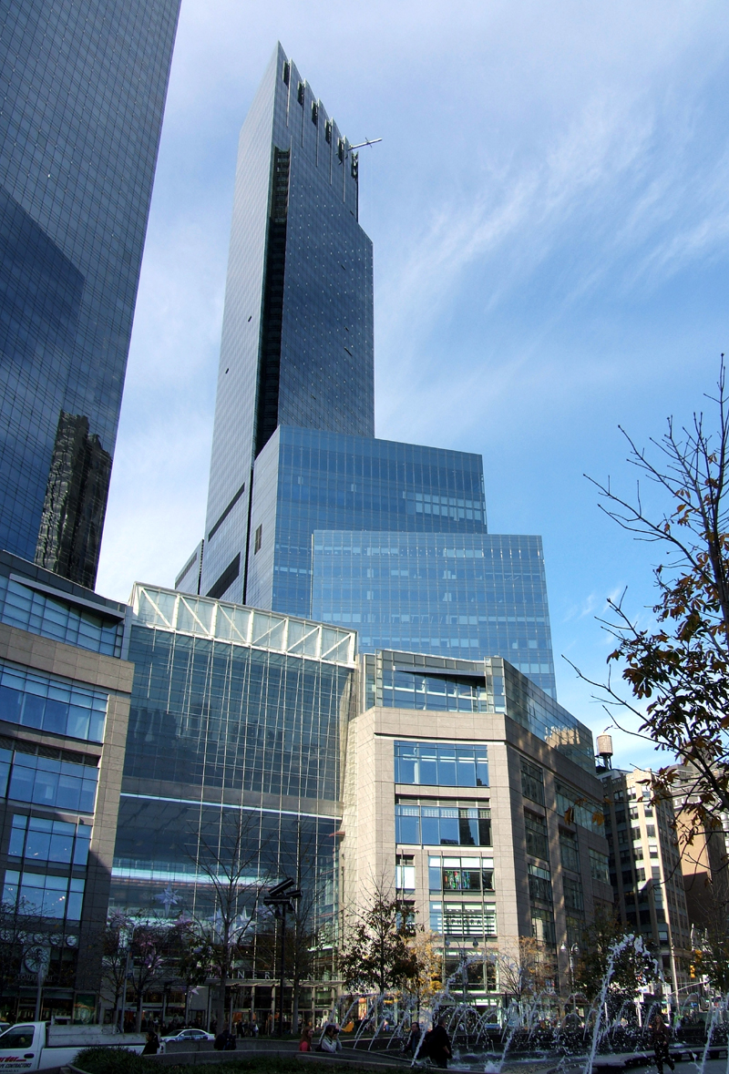 time warner center north tower