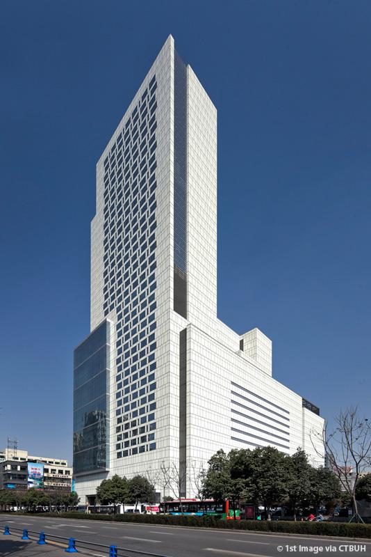 Grand hyatt chengdu at chicony plaza the skyscraper center for Sichuan cendes architectural design company limited