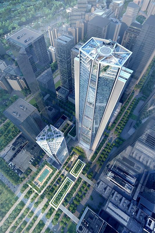 China Merchants Bank Headquarters Tower The Skyscraper
