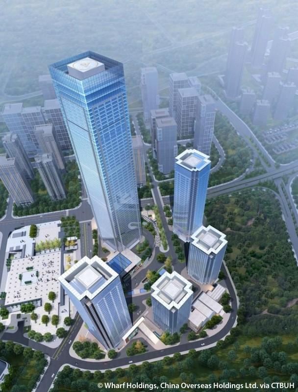 Chongqing Ifs T1 The Skyscraper Center