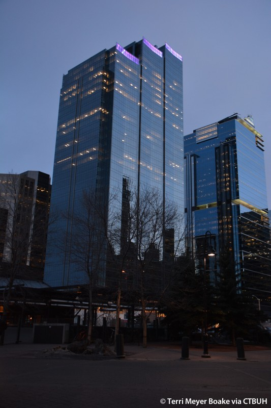 Cf Calgary City Centre Phase I The Skyscraper Center