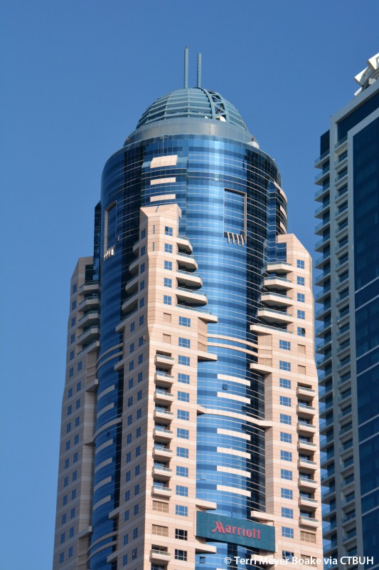 Dubai marriott harbour hotel and suites the skyscraper for Dubai hotel name