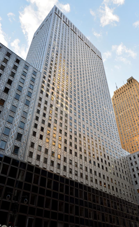 Socony Mobil Building The Skyscraper Center