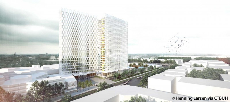 Nieuwbouw european patent office the skyscraper center - European patent office rijswijk ...