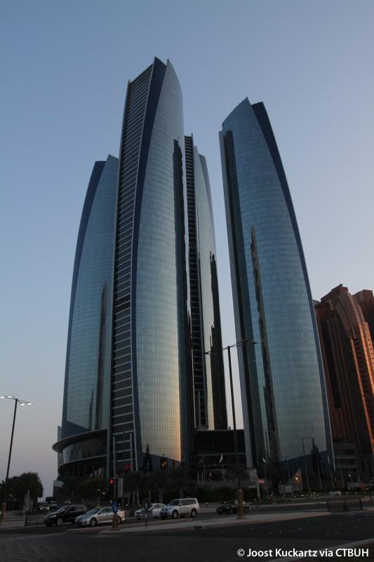 Etihad Towers T5 The Skyscraper Center