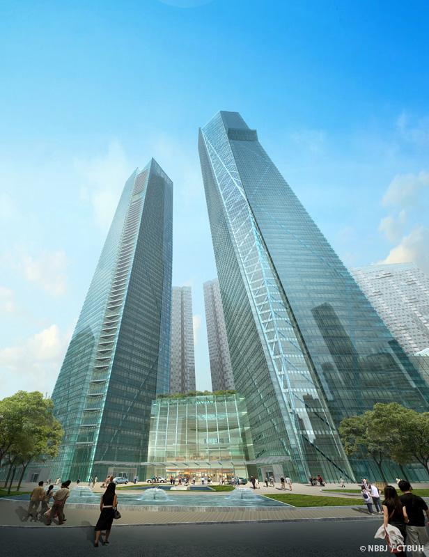 Eton Place Dalian Tower 1 The Skyscraper Center
