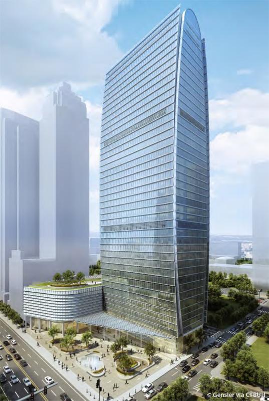The Finance Centre The Skyscraper Center