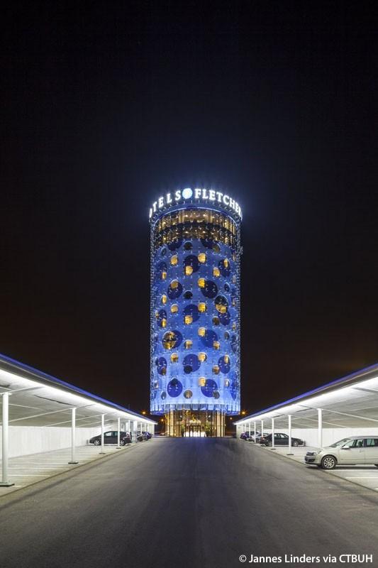 Fletcher hotel amsterdam the skyscraper center for Design consultancy amsterdam