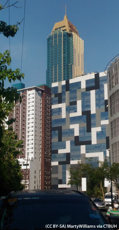 grand hyatt manila complex the skyscraper center