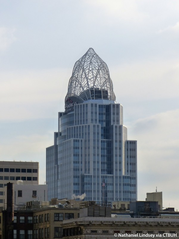 Great american tower at queen city square for Great american builders