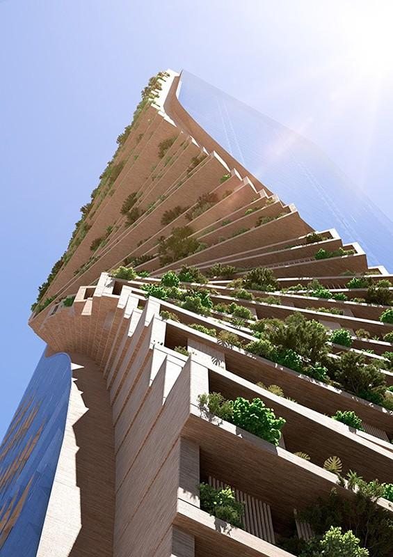 green spine tower 1 the skyscraper center