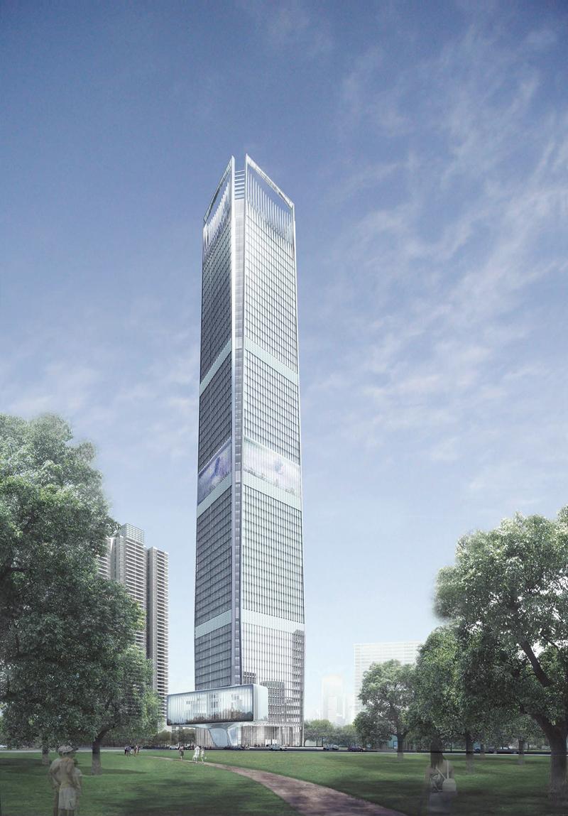 Guangfa Securities Headquarters The Skyscraper Center
