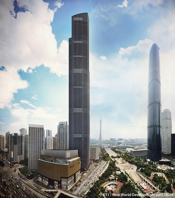 Kết quả hình ảnh cho Guangzhou CTF Finance Centre