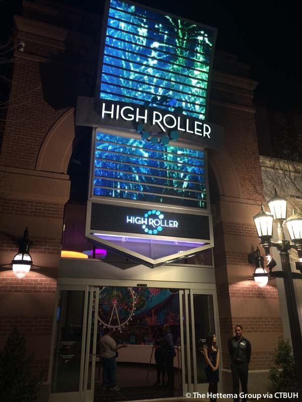 High Roller Cost