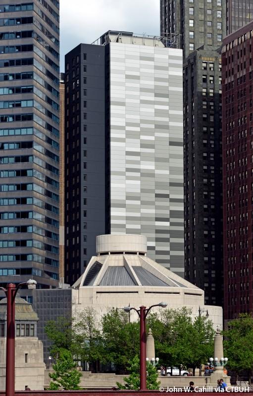 Hilton Garden Inn Chicago North Loop The Skyscraper Center