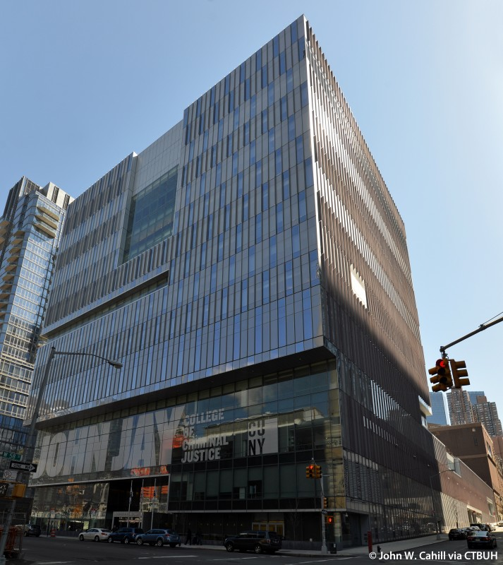 John Jay College New Building Map