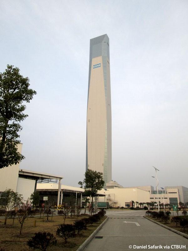 kone test tower the skyscraper center. Black Bedroom Furniture Sets. Home Design Ideas