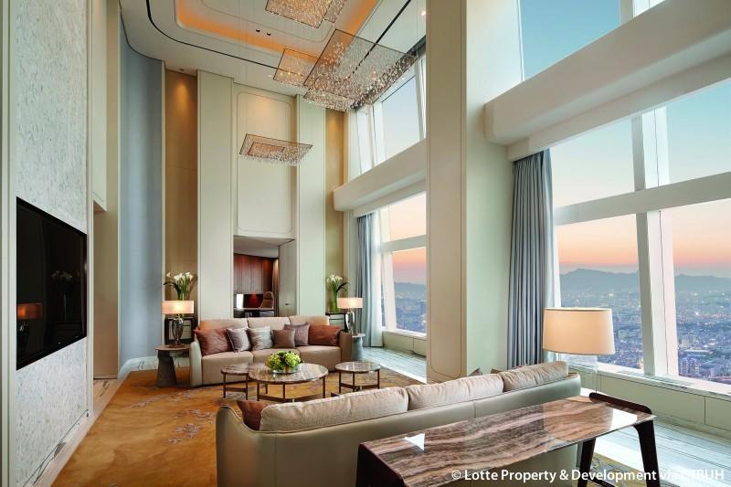 lotte world tower the skyscraper center. Black Bedroom Furniture Sets. Home Design Ideas