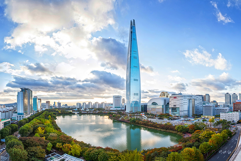 Lotte World Map Pdf. Height  Occupied Lotte World Tower The Skyscraper Center