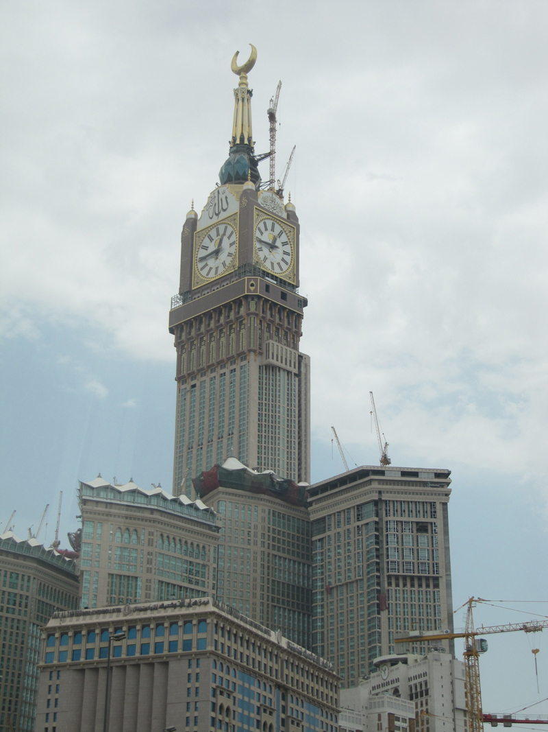 Makkah Royal Clock Tower The Skyscraper Center Minecraft Project Height Occupied