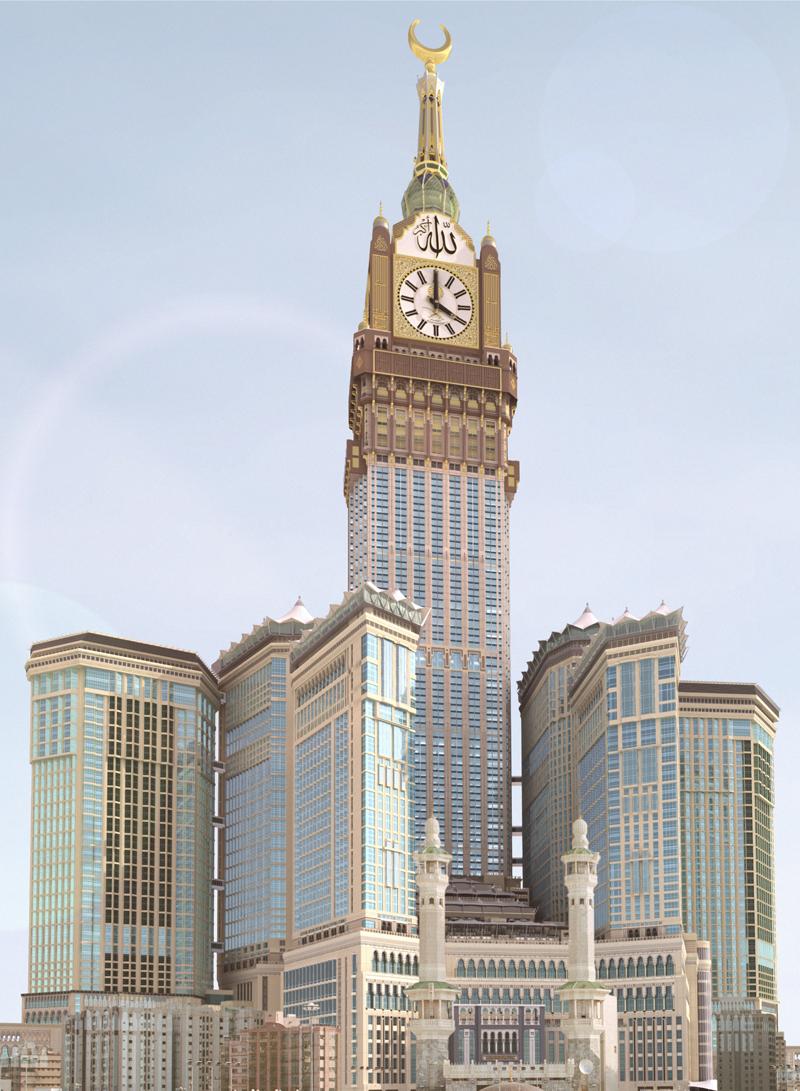 Makkah Royal Clock Tower The Skyscraper Center