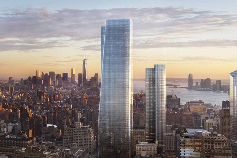 One Manhattan West The Skyscraper Center
