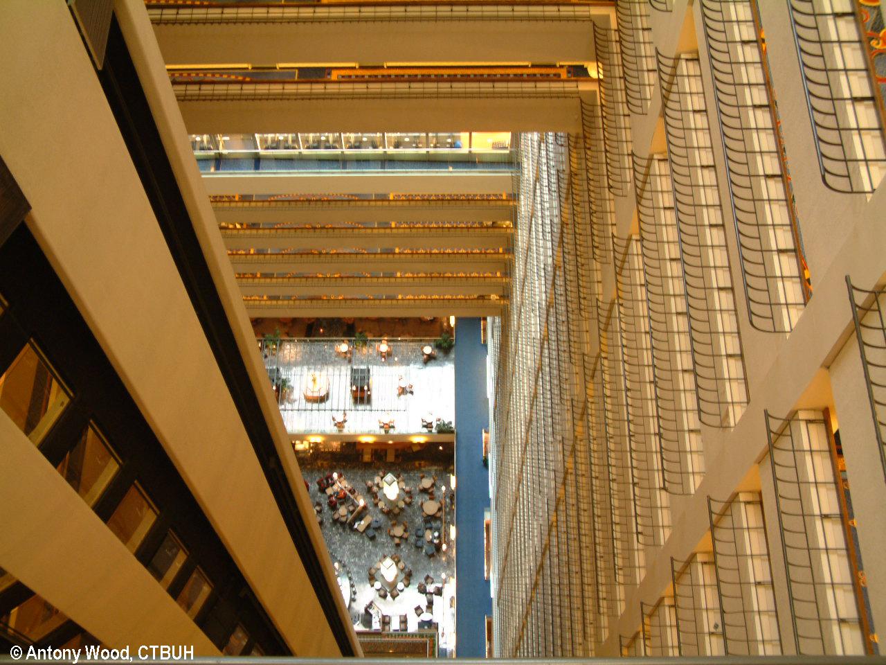 meilleure sélection 1f244 7ce21 New York Marriott Marquis Hotel - The Skyscraper Center