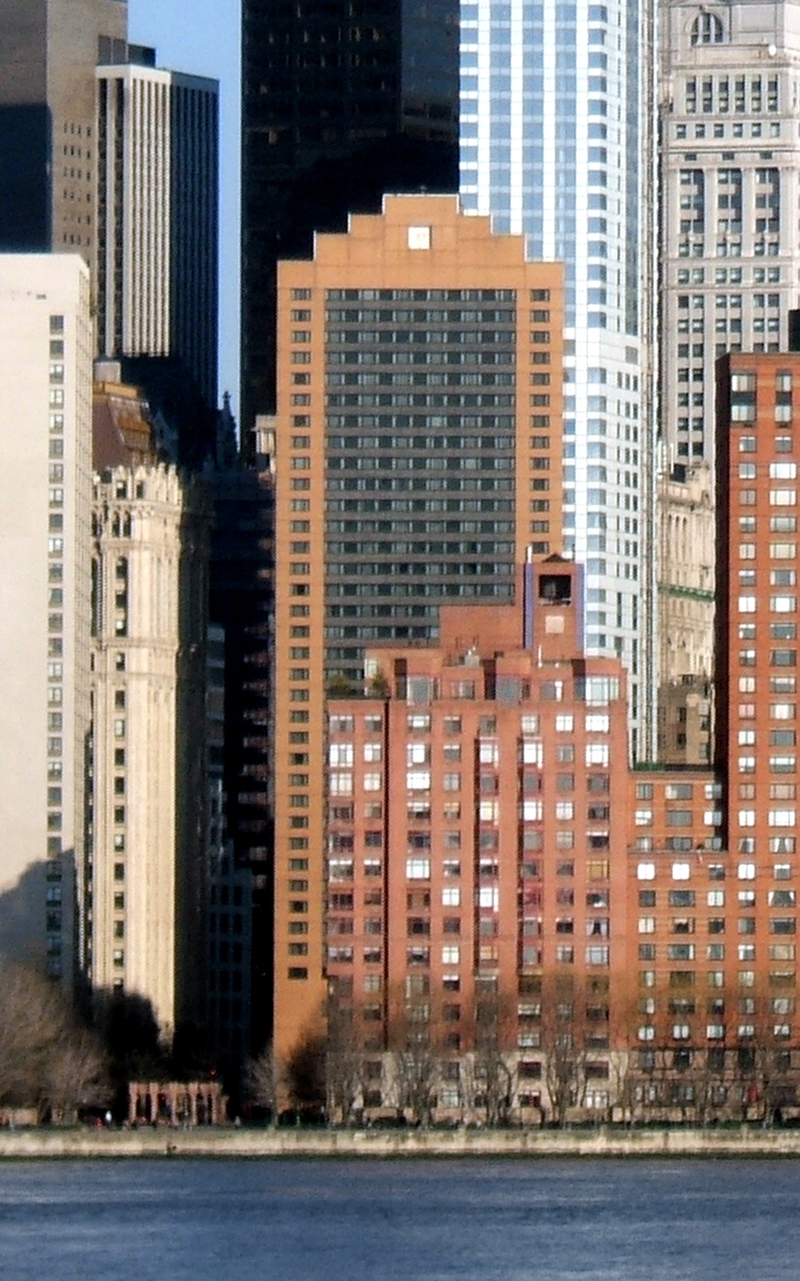 New York Marriott Downtown The Skyscraper Center