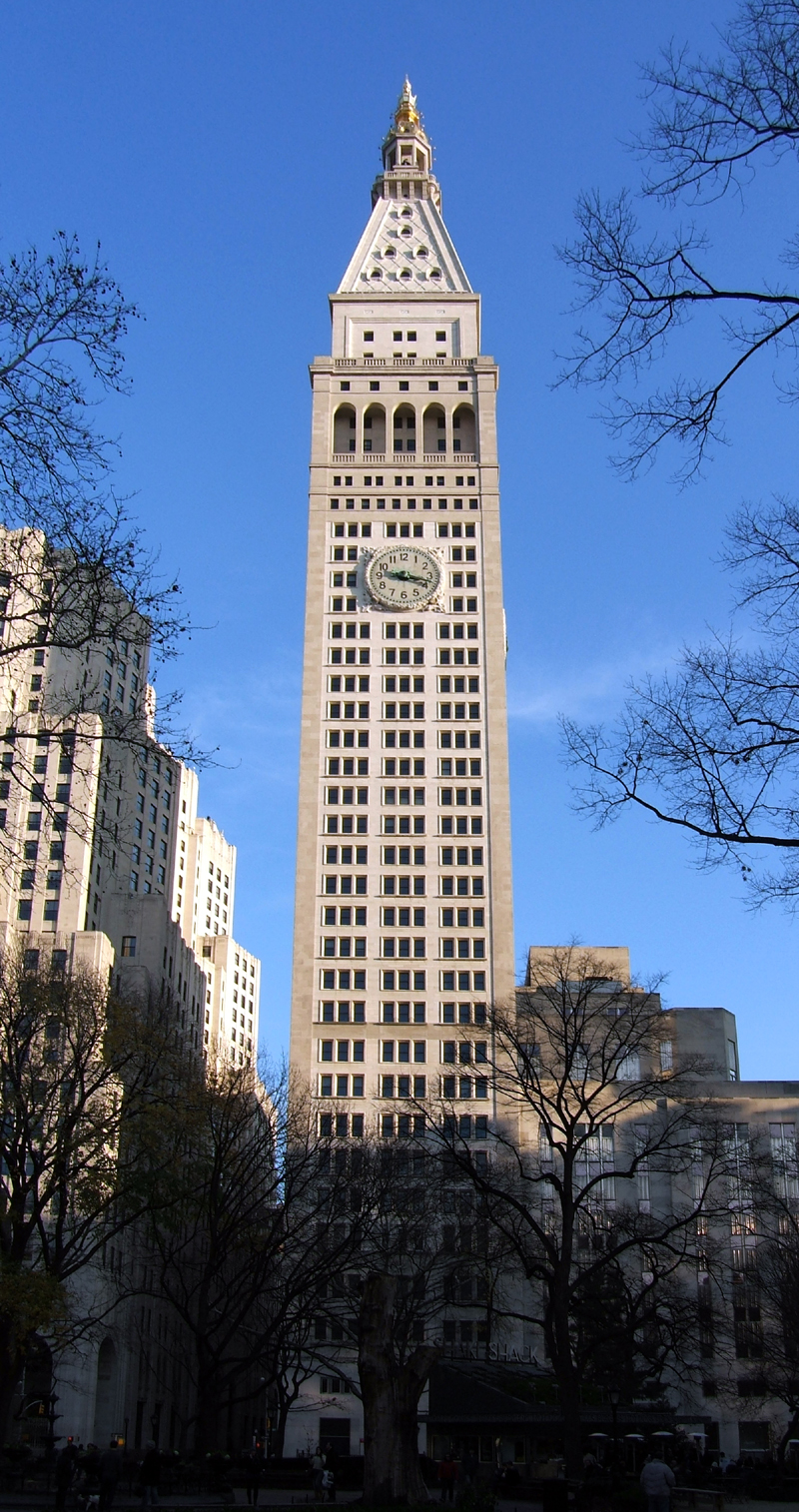 United Life Insurance >> Metropolitan Life Tower - The Skyscraper Center