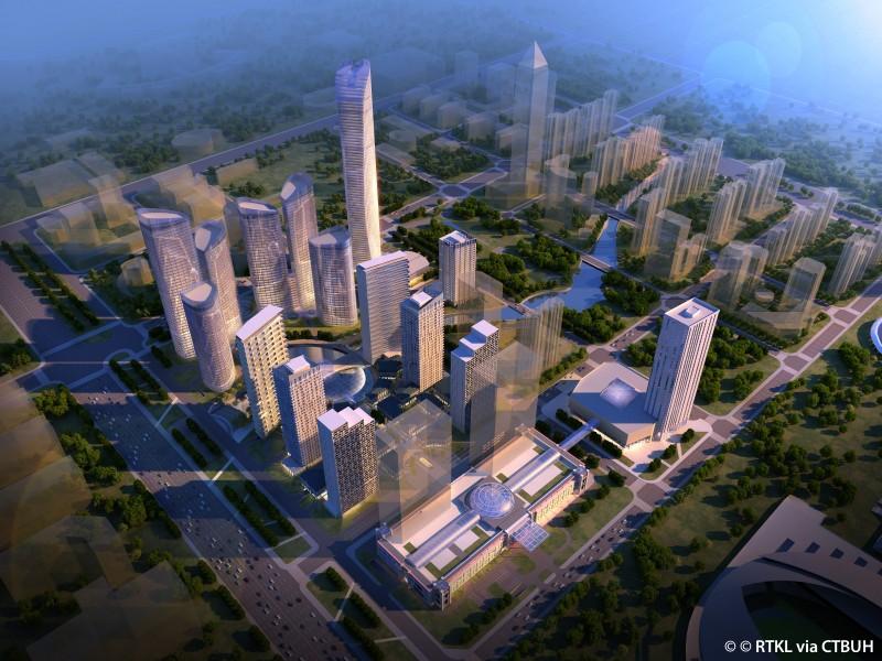 Nantong Zhongnan Tower The Skyscraper Center