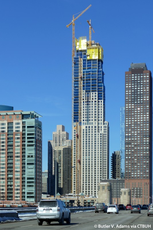 Chicago City Height Building Map
