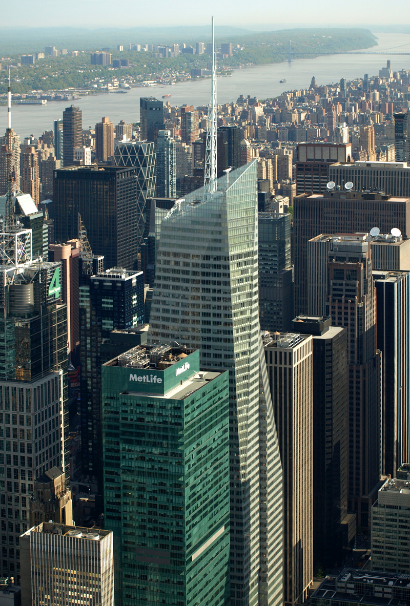 ... New York City Empire State Building 14A North View, Times Square Area,  Bank of ...
