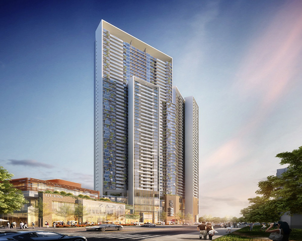 Wuhan Tiandi Park Place Residential Tower 2 The