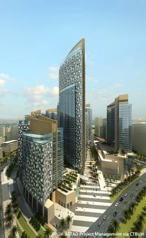 Qatar Petroleum District Hotel The Skyscraper Center
