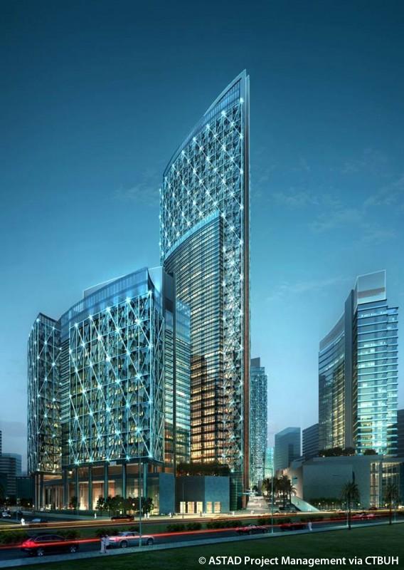 Qatar Petroleum District Hotel - The Skyscraper Center