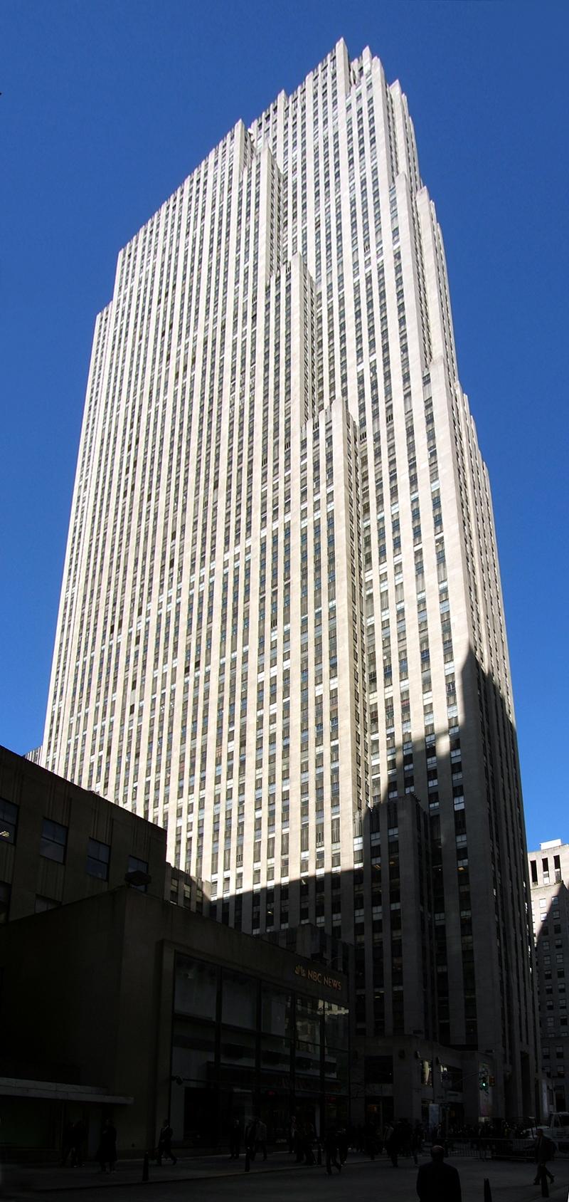 Comcast Building The Skyscraper Center