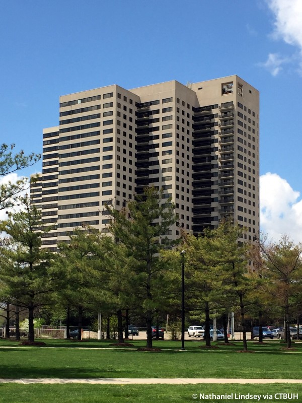 Riverfront Towers Tower 100 The Skyscraper Center
