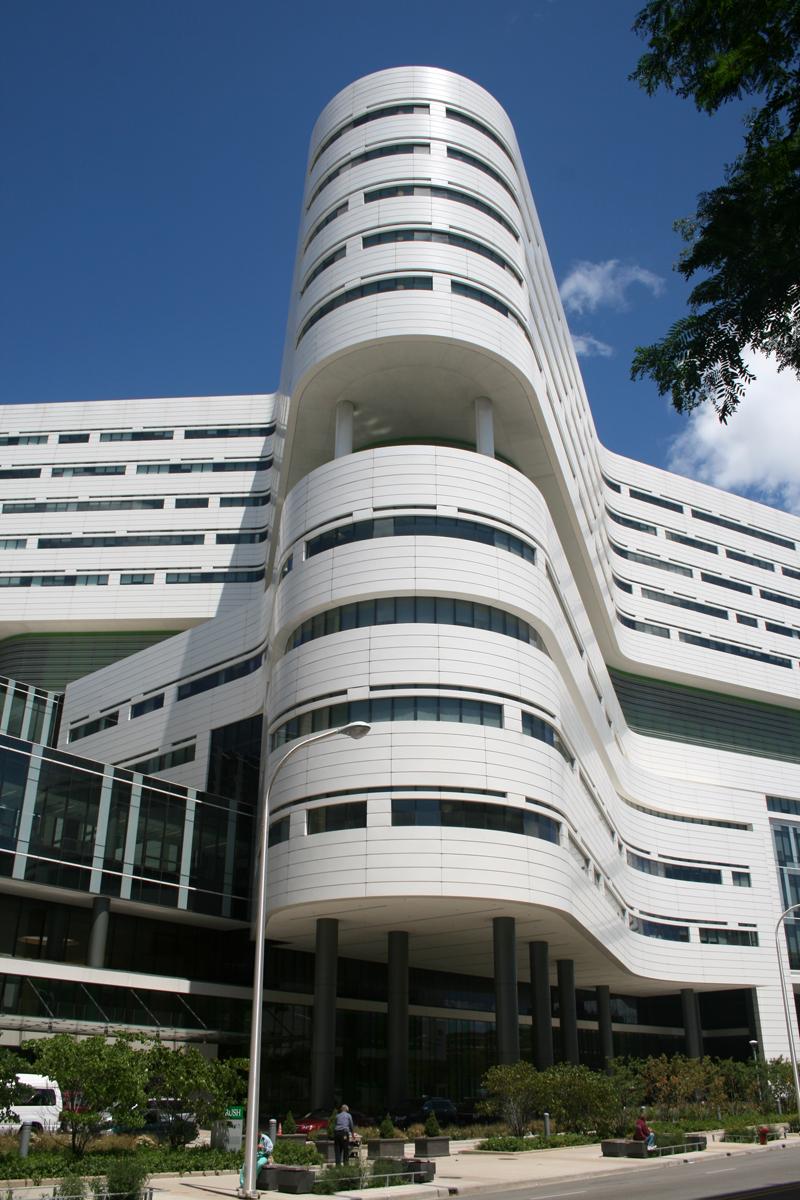 Rush University Medical Center Hospital Tower - The
